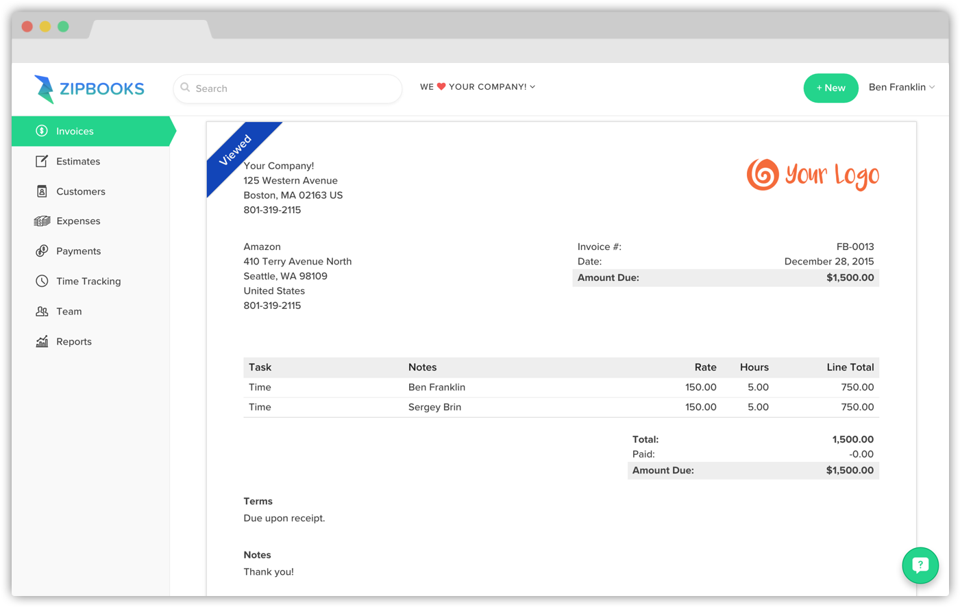 Amatospizzaus  Pretty Can I Remove The Tax Column On An Invoice  Zipbooks With Outstanding Can I Remove The Tax Column On An Invoice With Enchanting Invoice Apps For Android Also Invoice Templates Doc In Addition Invoice Tamplet And Pi Purchase Invoice As Well As Create Tax Invoice Additionally Dealer Invoice Price For Cars From Zipbookscom With Amatospizzaus  Outstanding Can I Remove The Tax Column On An Invoice  Zipbooks With Enchanting Can I Remove The Tax Column On An Invoice And Pretty Invoice Apps For Android Also Invoice Templates Doc In Addition Invoice Tamplet From Zipbookscom