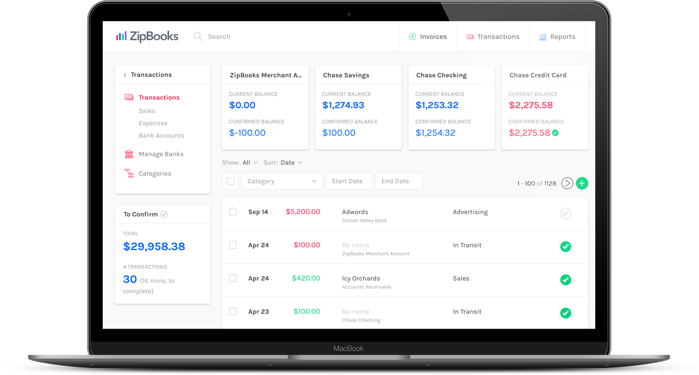Invoice Software For Mac Zipbooks