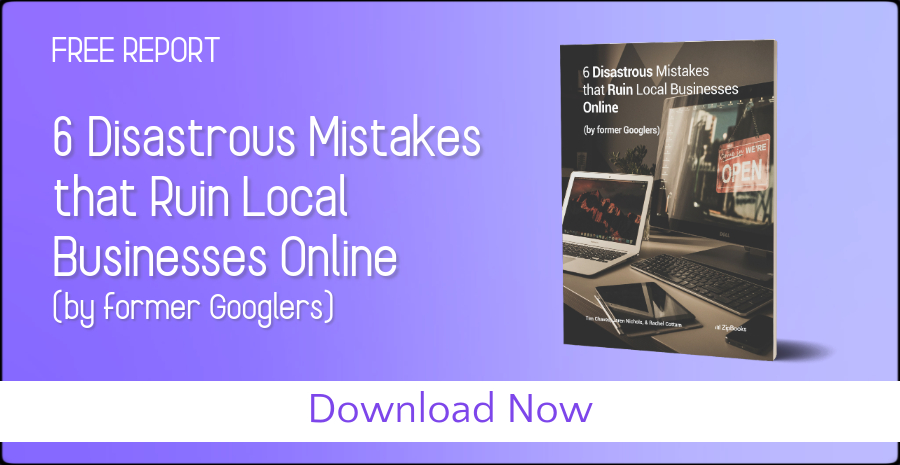 Free Report--6 Mistakes that ruin local businesses online