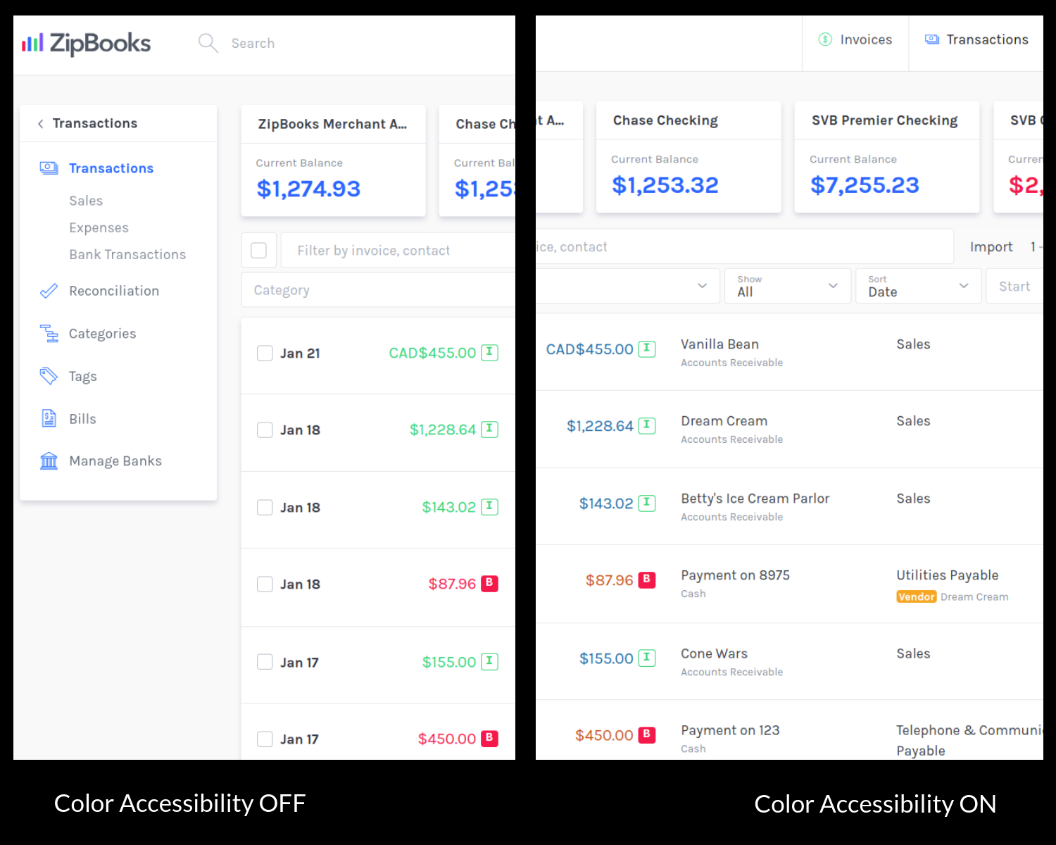 zipbooks color accessibility